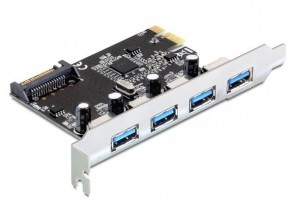 Delock PCI Expr Card Delock 4x USB3.0