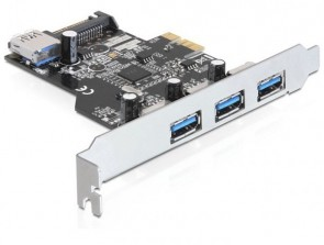 Delock 3 x internal,1 x external PCIe
