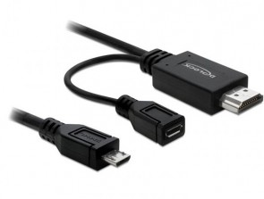 Delock MHL male > High Speed HDMI M+