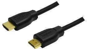 LogiLink HDMI-Kabel Ethernet A->A St/St