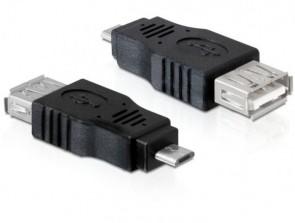 Delock USB micro-B M>USB 2.0-A F OTG