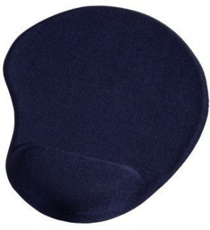 Hama MousePad Ergonomic, Mini, Blue