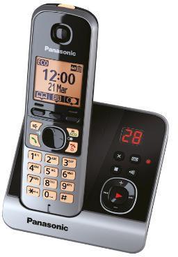 Panasonic KX-TG6721 BLACK