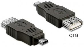 Delock USB A -> mini B fe/ma OTG