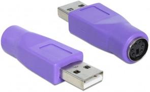 Delock USB Adaptor USB A ->PS/2 ma/fe