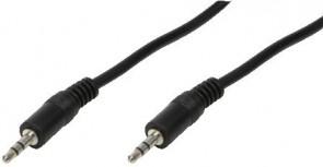 LogiLink Audiokabel 1x 3,5mm -> 1x 3,5m
