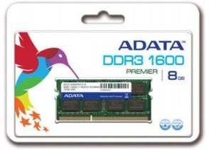 ADATA 8GB DDR3 SO DIMM 1600 512x8