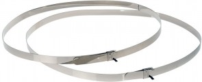 Axis STAINLESS STEEL STRAPS 1450MM
