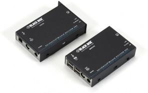Black Box DVI-D USB KVM Extender