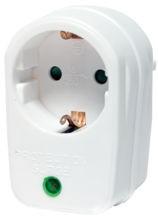 LogiLink White Powerplug adaptor