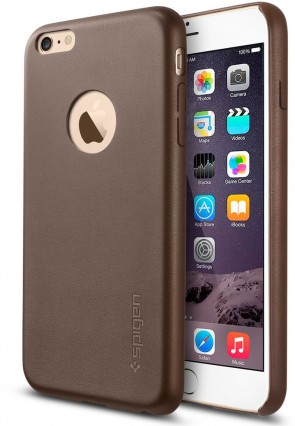 Spigen iPhone 6 Plus Case Leather