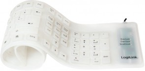 LogiLink Keyboard USB / PS/2 Flexibel