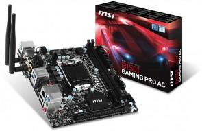 MSI B150I GAMING PRO AC DDR4