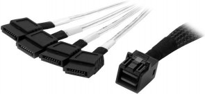 StarTech.com 1M SFF-8643 TO 4X SATA CABLE