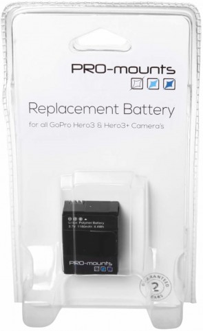 Promounts BATTERY HERO3 / HERO3+