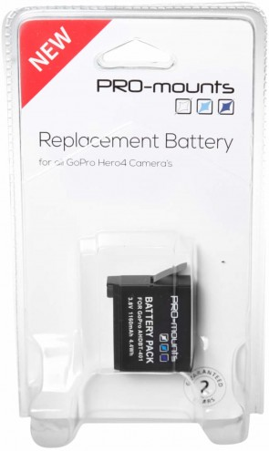 Promounts BATTERY HERO4