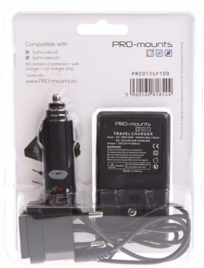 Promounts BATTERY KIT HERO4