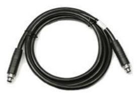 Zebra Fork lift cradle power cable