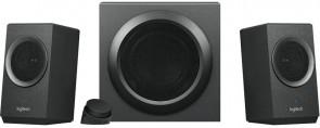 Logitech Z337 2.1 Speaker Set, Black