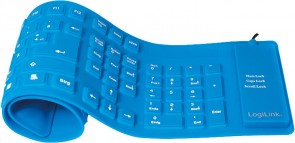 LogiLink Keyboard Waterprof. USB+PS2