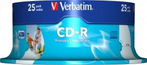 Verbatim AZO CD-R 52X 700MB Printable