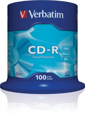Verbatim CD-R 52X Extra Protect. 700MB