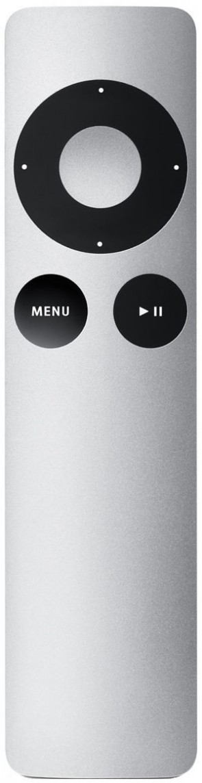 Apple Remote Press buttons