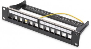 Digitus Patchpanel 1HE 12-Port,