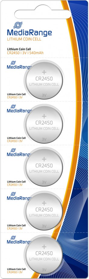 MediaRange Batterie Coin Cell Blister
