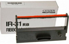 Citizen Ink Ribbon IR31 Red/Black