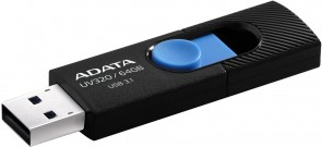 ADATA 64GB UV320 USB 3.1. Black/Blue