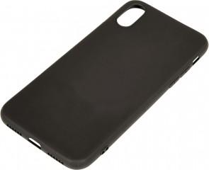 Sandberg Cover iPhone X soft Black