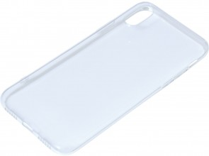 Sandberg Cover iPhone X soft Clear