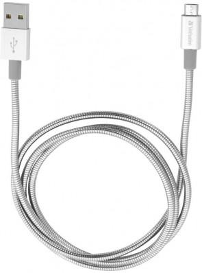 Verbatim Mirco B USB Cable. Silver