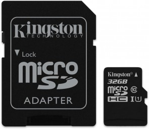 Kingston microsSD 32GB Canvas Select