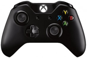 Microsoft Gamepad Black gaming control