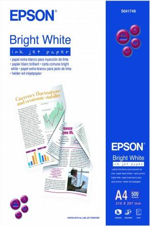 Epson A4 BrightWhite InkJet Pap(500)