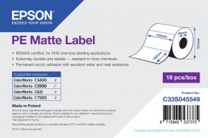 Epson label roll,synthetic 102x152mm