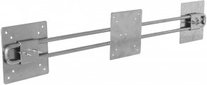 R-Go Tools ErgoSteel Wing for 2 monitors