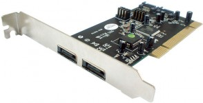 ST Labs PCI SATA 1.0 Card - 2 channels