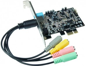 ST Labs C-Media PCIe HD Sound Card