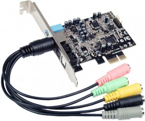ST Labs C-Meida PCIe HD Sound Card