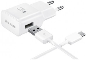 Samsung Fast AC Charger USB-C WHT