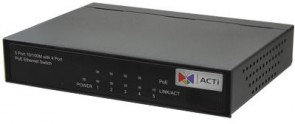 ACTi Eten PS-254 4-Port 802.3at PoE