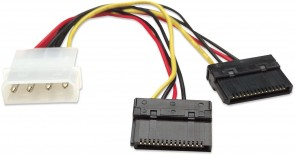 Manhattan SATA Power Y Cable