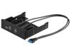 "MicroConnect USB 3.0 Frontpanel 3.5\""/5,25\"""