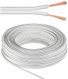MicroConnect Loudspeaker cable, 100m, white