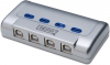 MicroConnect 4 Port Manual USB Switch
