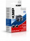 KMP Printtechnik AG C81D ink cartridge BK 2pcs