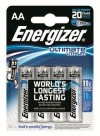 Energizer Lithium AA - LR6 Ultimate 4-pa